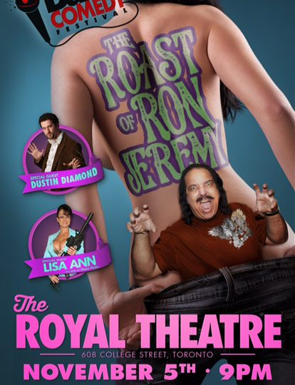 Ron Jeremy Roast @ The Royal Theatre in Toronto