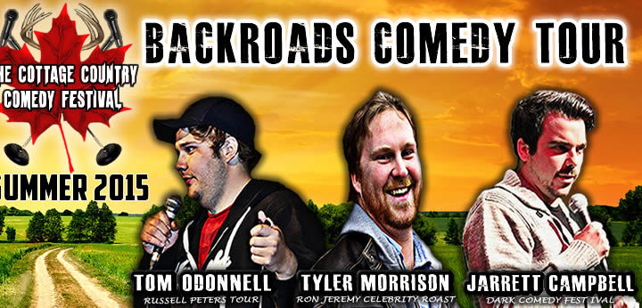 Backroads Comedy Tour hits Barrie Sept 26!