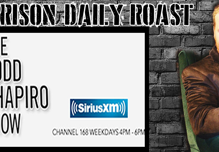 New Video! Tyler Morrison Daily Roast On Sirius XM
