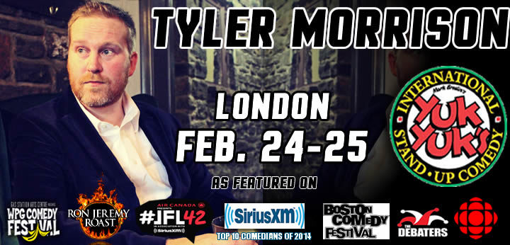Tyler Morrison & Keith Pedro Coming to London!